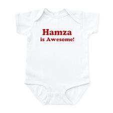 Hamza is Awesome Onesie