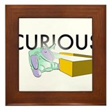 Curious Framed Tile