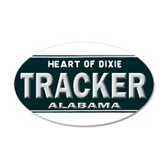 Alabama Tracker Wall Decal