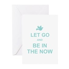 Let go spiritual quote Greeting Cards (Pk of 10)