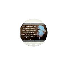 Lysander Spooner quote Mini Button (10 pack)