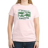 Science Of Tennis Women's Pink T-Shirt