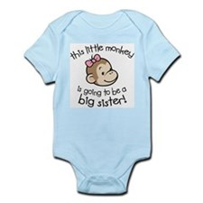 Big Sister to be - Monkey Face Body Suit