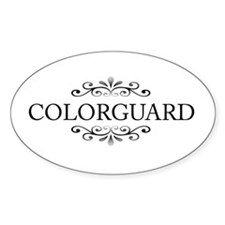 Colorguard Oval Decal
