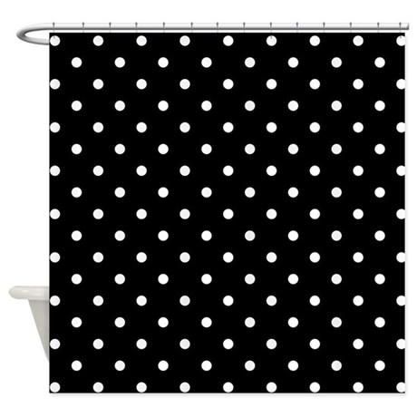 Black And White Plaid Curtains Colorful Polka Dot Shower Cu
