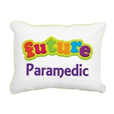 Future Paramedic Rectangular Canvas Pillow