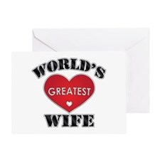 World's Greatest Wife Greeting Card
