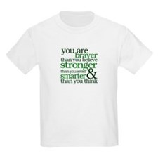 You are stronger than you seem T-Shirt