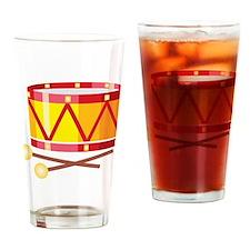 Drum Drinking Glass