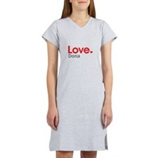 Love Dona Women's Nightshirt