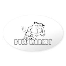Sticker mono oval