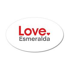 Love Esmeralda Wall Decal