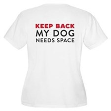 Ask First! Women's Plus Size T-Shirt w/Keep Back
