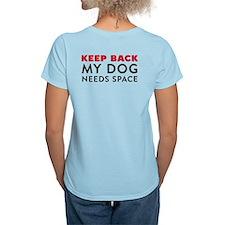 Ask First! Women's Light T-Shirt w/Keep Back