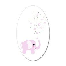 Cute elephant Wall Decal
