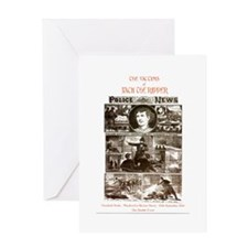 JACK THE RIPPER 004 Greeting Cards