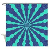 FRACTALSCOPE 11 Shower Curtain