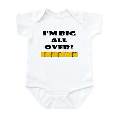 Ruler Big All Over Infant Bodysuit