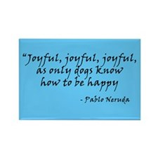 Joyful! Text Rectangle Magnet (100 pack)