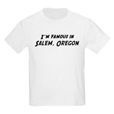 Famous in Salem Kids T-Shirt