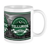 "Telluride ""Colorado Green"" Small Mugs"