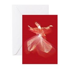 Whirling Dervish Greeting Cards (Pk of 10)