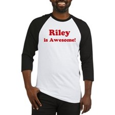 Riley is Awesome Baseball Jersey