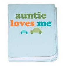 Auntie Loves Me baby blanket