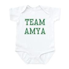 TEAM AMYA  Infant Bodysuit