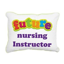 Future Nursing Instructor Rectangular Canvas Pillo