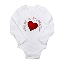 mommy is my Valentine Body Suit