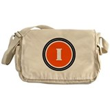 Orange Messenger Bag