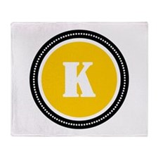 Yellow Throw Blanket