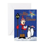 OES Penguins Christmas Cards (Pk of 10)