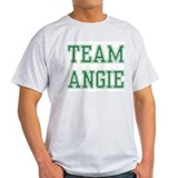 TEAM ANGIE  Ash Grey T-Shirt