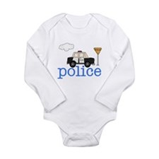 Police Car Infant Creeper Body Suit