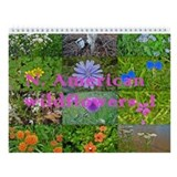 North American Wildflowers Wall Calendar 1