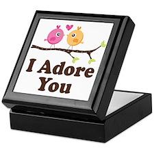 I Adore You Dating Gift Keepsake Box