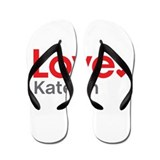 Love Katelyn Flip Flops