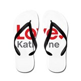 Love Katharine Flip Flops