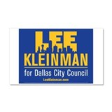 Lee for Dallas Car Magnet 20 x 12