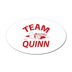 Team Quinn - Dexter 38.5 x 24.5 Oval Wall Peel