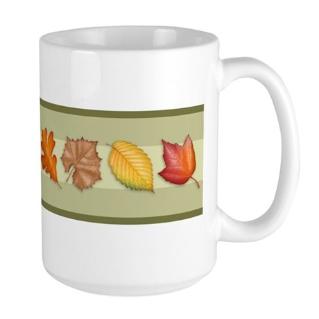 Leaves Large Mug