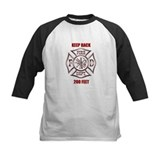 Firefighter Keep back 200 feet Baseball Jersey