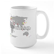 Woolman Military Spending Mugs