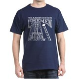 transmission tower white T-Shirt