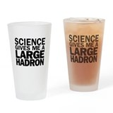 Cute Large hadron collider Drinking Glass