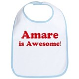 Amare is Awesome Bib