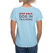 Ask First! Women's Ligh T-Shirt w Keep Back Train