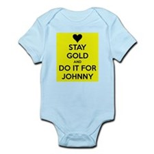 Stay Gold and Do it for Johnny Body Suit